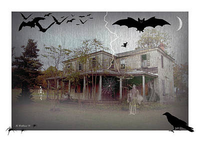 Trick Or Run Like Hell Art Print by Brian Wallace