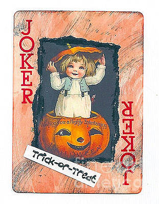 Mixed Media - Trick Or Treat by Ruby Cross