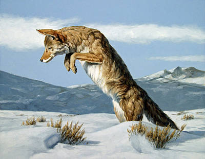 Painting - Trickster by Peter Eades