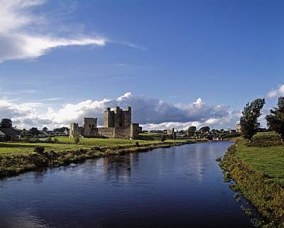 Trim Castle On The River Boyne, County Art Print by The Irish Image Collection