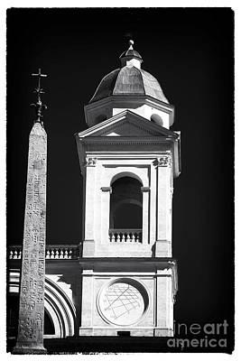 Trinita Church Tower Art Print by John Rizzuto