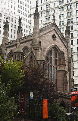 Trinity Church 2 Art Print by Teresa Mucha