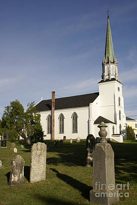 Photograph - Trinity Church Kingston New Brunswick by John  Mitchell