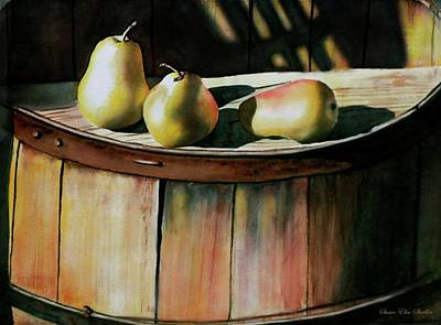 Painting - Trio by Susan Elise Shiebler