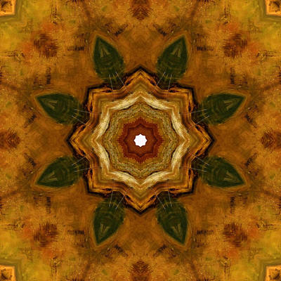 Painting - Trio Warm by Kathy Sheeran