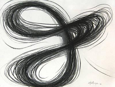 Triple Figure Eight Study Number One Art Print by Michael Morgan