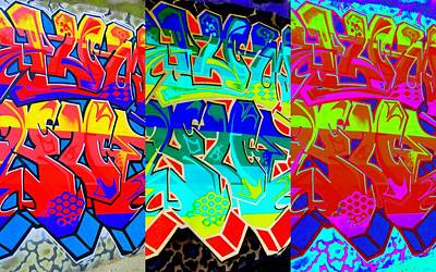Digital Art - Triple Threat by Randall Weidner