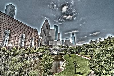 Photograph - Trippy Houston by David Morefield