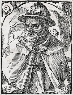 Tristao Da Cunha, Portuguese Explorer Art Print by Middle Temple Library