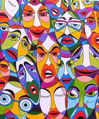 Tristes Art Print by Mario Fresco