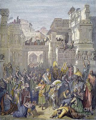 Queen Esther Photograph - Triumph Of Mordecai by Granger