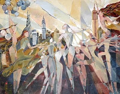Painting - Triumph  by Yogendra  Sethi