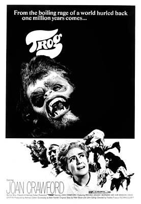 Trog, Joe Cornelius, Joan Crawford, 1970 Art Print by Everett