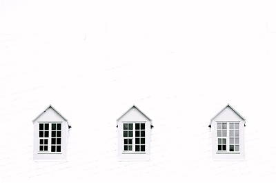 Photograph - Trois Fenetres by Valerie Rosen