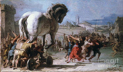 Photograph - Trojan Horse by Granger