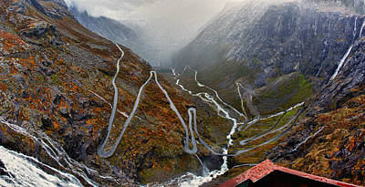 Photograph - Trollstigen by A A