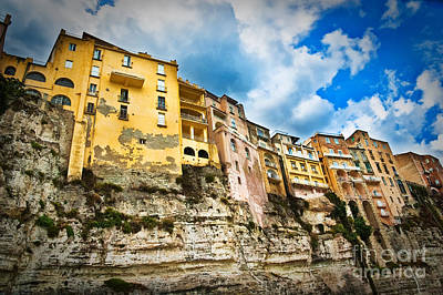 Photograph - Tropea Houses by Silvia Ganora