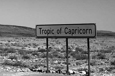 Photograph - Tropic Of Capricorn by Aidan Moran