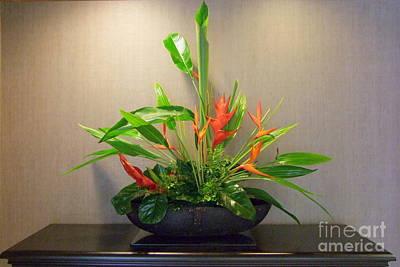 Tropical Arrangement Art Print by Mary Deal