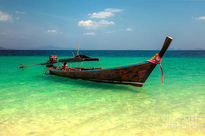 Lanta Photograph - Tropical Boat by Adrian Evans