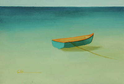 Painting - Tropical Calm by Diane Cutter