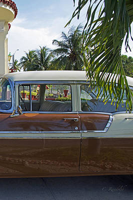 Photograph - Tropical Chevy by Cheri Randolph