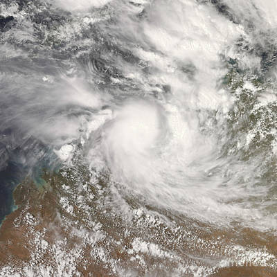 Photograph - Tropical Cyclone Billy by Stocktrek Images