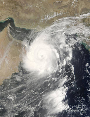 Photograph - Tropical Cyclone Gonu In The Arabian by Stocktrek Images