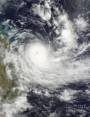 Photograph - Tropical Cyclone Hamish Off Australia by Stocktrek Images
