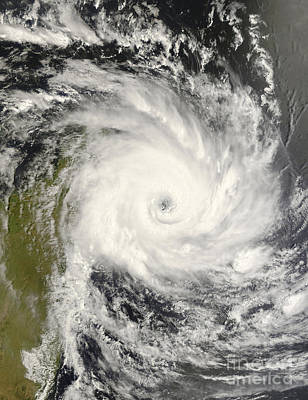 Tropical Cyclone Ivan Over Madagascar Art Print