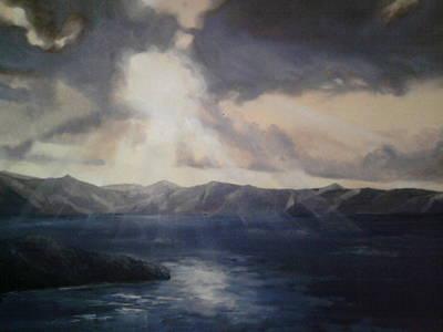 Paul Morgan Painting - Tropical Dawn by Paul Morgan