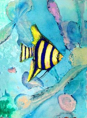 Tropical Fish I Art Print