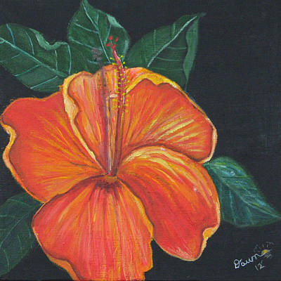 Painting - Tropical Flora by Dawn Harrell