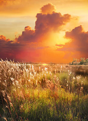 Digital Art - Tropical Savannah by Francesa Miller