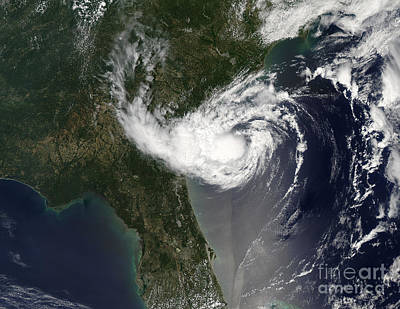 Abstract Graphics - Tropical Storm Alberto Swirls by Stocktrek Images
