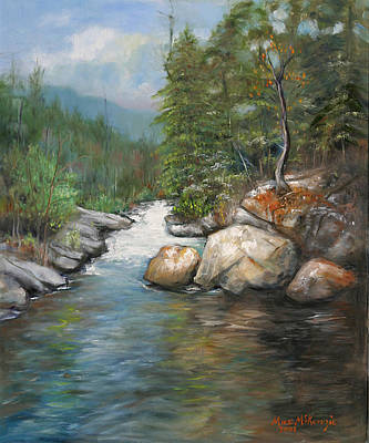 Painting - Trout Stream by Max Mckenzie