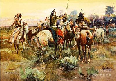 Truce Art Print by Pg Reproductions