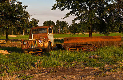 Cactus - Truck and Tank 23 by Douglas Barnett
