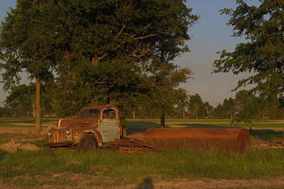 Western Art - Truck and Tank 41 by Douglas Barnett