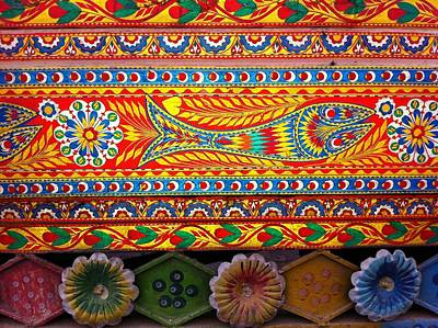 Photograph - Truck Art Detail by Fareeha Khawaja