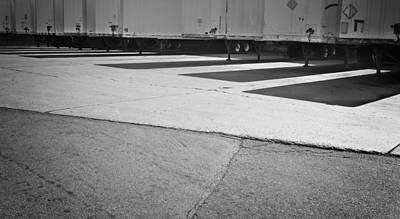 Truck Lines Art Print