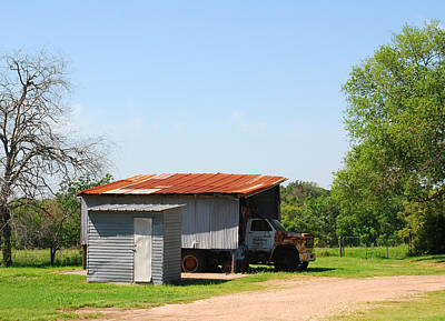 Photograph - Truck Shelter by Connie Fox