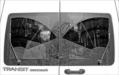 Truck Windshield Art Print by Robert Ullmann