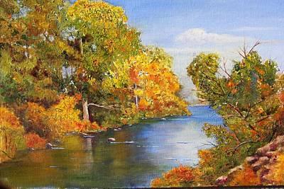 Truckee River Art Print