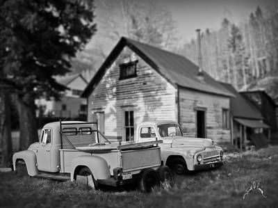Photograph - Trucks At Rico by Williams-Cairns Photography LLC