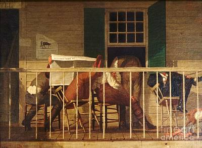 1850s Painting - True Americans by Pg Reproductions