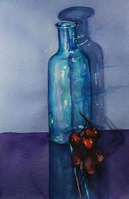 True Friends Are Transparent Art Print by Donna Pierce-Clark