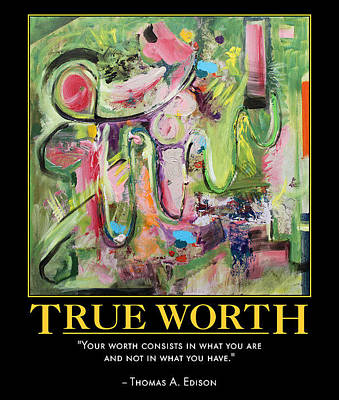 Digital Art - True Worth by Sylvia Greer