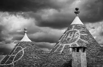 Alberobello Photograph - Trulli Conival by Michael Avory
