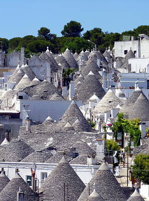 Photograph - Truly Whimsical Trulli by Carla Parris